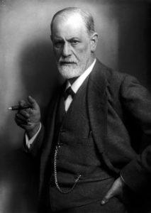 Fotografie von Sigmund Freud